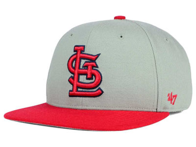 St. Louis Cardinals '47 MLB '47 Gray Sure Shot Snapback Cap