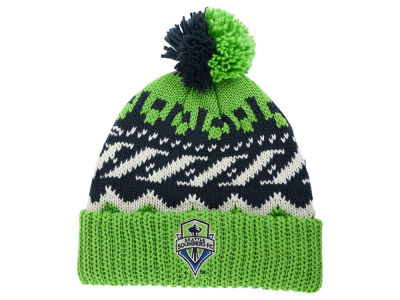 Seattle Sounders FC adidas MLS Sweater Pom Knit