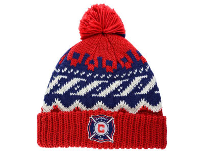 Chicago Fire adidas MLS Sweater Pom Knit