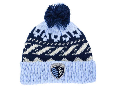 Sporting Kansas City adidas MLS Sweater Pom Knit