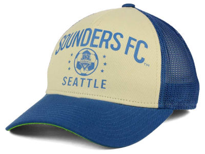 Seattle Sounders FC adidas MLS Keep Truckin Adjustable Cap