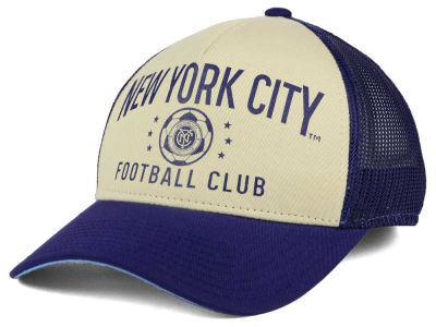 New York City FC adidas MLS Keep Truckin Adjustable Cap