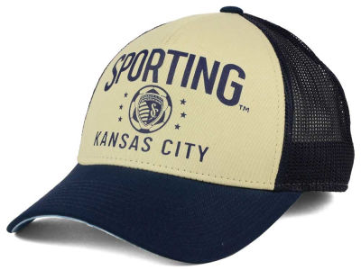 Sporting Kansas City adidas MLS Keep Truckin Adjustable Cap