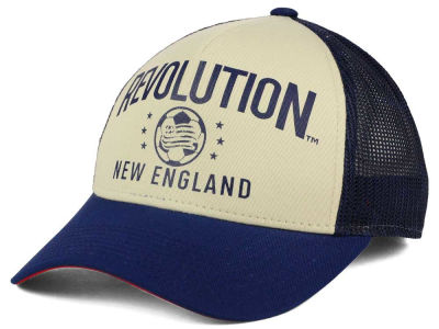 New England Revolution adidas MLS Keep Truckin Adjustable Cap