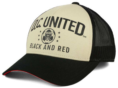 DC United adidas MLS Keep Truckin Adjustable Cap
