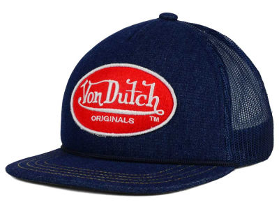 Von Dutch OG Patch Flat Bill Trucker Hat