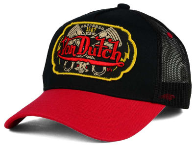 Von Dutch Pistons Patch Trucker Hat