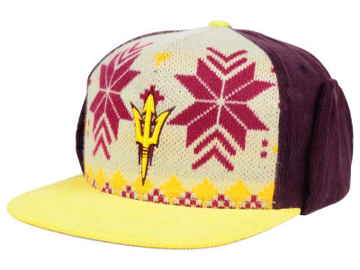 Arizona State Sun Devils Top of the World NCAA Ugly Sweater Strapback Cap