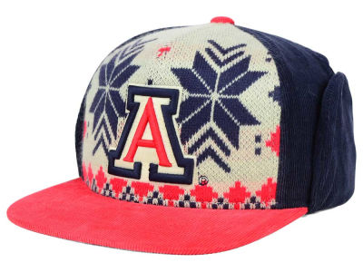 Arizona Wildcats Top of the World NCAA Ugly Sweater Strapback Cap