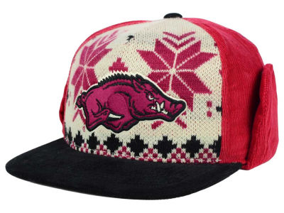 Arkansas Razorbacks Top of the World NCAA Ugly Sweater Strapback Cap