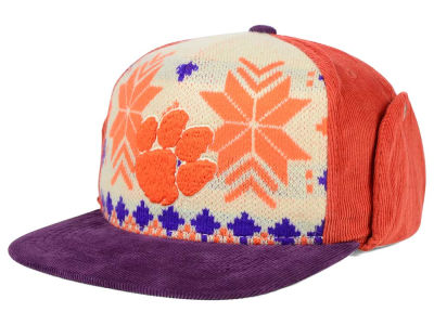 Clemson Tigers Top of the World NCAA Ugly Sweater Strapback Cap