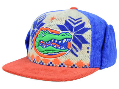Florida Gators Top of the World NCAA Ugly Sweater Strapback Cap