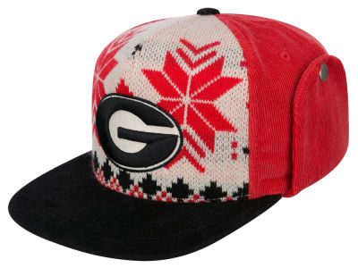 Georgia Bulldogs Top of the World NCAA Ugly Sweater Strapback Cap