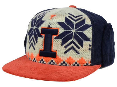 Illinois Fighting Illini Top of the World NCAA Ugly Sweater Strapback Cap