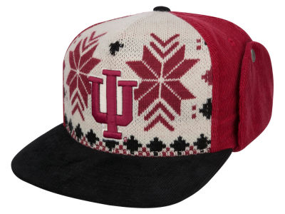 Indiana Hoosiers Top of the World NCAA Ugly Sweater Strapback Cap