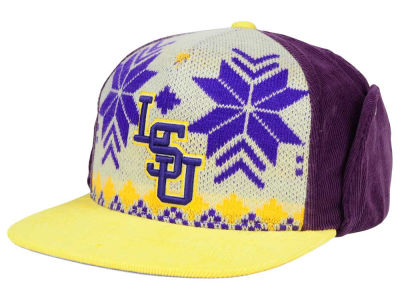 LSU Tigers Top of the World NCAA Ugly Sweater Strapback Cap