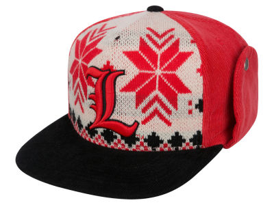 Louisville Cardinals Top of the World NCAA Ugly Sweater Strapback Cap