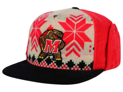 Maryland Terrapins Top of the World NCAA Ugly Sweater Strapback Cap