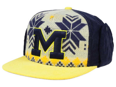 Michigan Wolverines Top of the World NCAA Ugly Sweater Strapback Cap