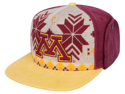 Minnesota Golden Gophers Top of the World NCAA Ugly Sweater Strapback Cap