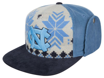 North Carolina Tar Heels Top of the World NCAA Ugly Sweater Strapback Cap