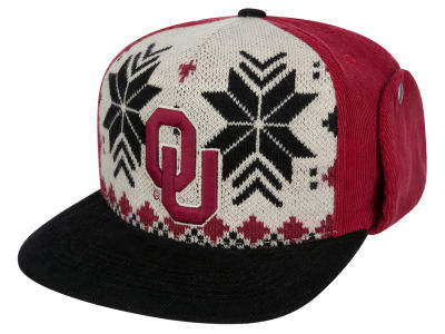 Oklahoma Sooners Top of the World NCAA Ugly Sweater Strapback Cap