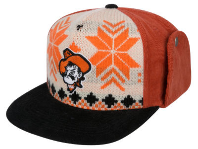 Oklahoma State Cowboys Top of the World NCAA Ugly Sweater Strapback Cap