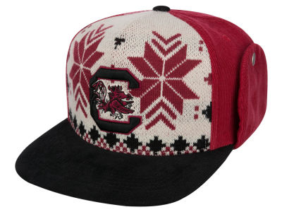 South Carolina Gamecocks Top of the World NCAA Ugly Sweater Strapback Cap