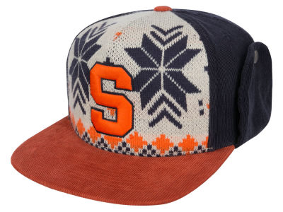 Syracuse Orange Top of the World NCAA Ugly Sweater Strapback Cap