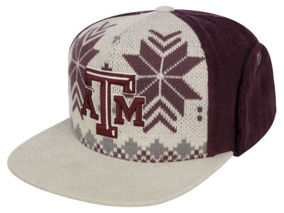 Texas A&M Aggies Top of the World NCAA Ugly Sweater Strapback Cap