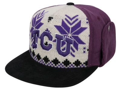 Texas Christian Horned Frogs Top of the World NCAA Ugly Sweater Strapback Cap