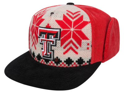 Texas Tech Red Raiders Top of the World NCAA Ugly Sweater Strapback Cap
