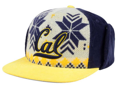 California Golden Bears Top of the World NCAA Ugly Sweater Strapback Cap