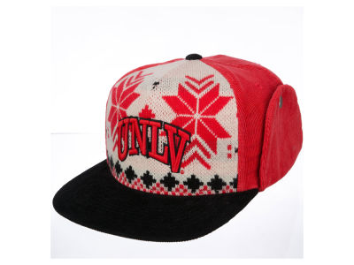 UNLV Runnin Rebels Top of the World NCAA Ugly Sweater Strapback Cap