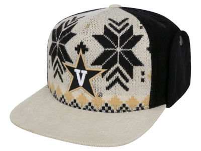 Vanderbilt Commodores Top of the World NCAA Ugly Sweater Strapback Cap