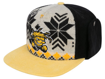 Wichita State Shockers Top of the World NCAA Ugly Sweater Strapback Cap