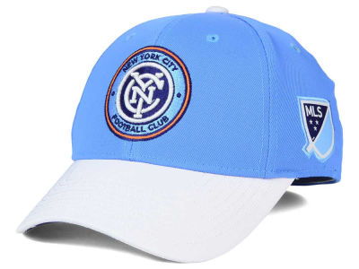 New York City FC adidas MLS Authentic Logo Under Flex Cap