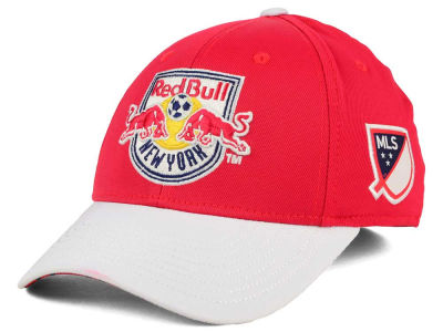 New York Red Bulls adidas MLS Authentic Logo Under Flex Cap
