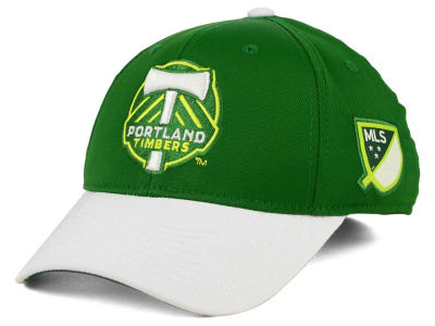 Portland Timbers adidas MLS Authentic Logo Under Flex Cap