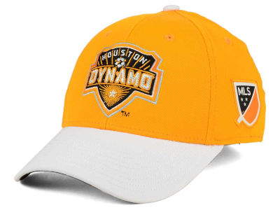 Houston Dynamo adidas MLS Authentic Logo Under Flex Cap