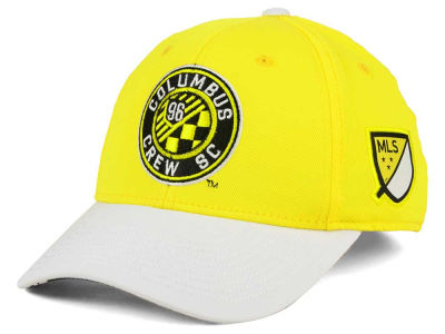 Columbus Crew SC adidas MLS Authentic Logo Under Flex Cap