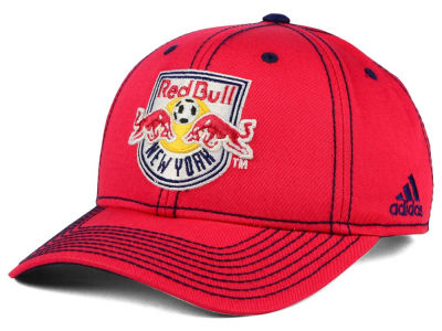 New York Red Bulls adidas MLS 2016 Sweeper Cap