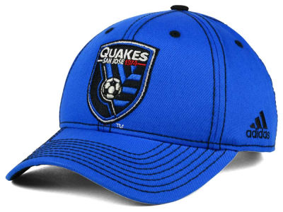 San Jose Earthquakes adidas MLS 2016 Sweeper Cap