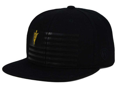 Arizona State Sun Devils Top of the World NCAA Saluter Snapback Hat