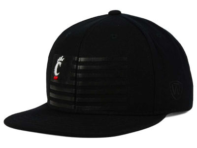 Cincinnati Bearcats Top of the World NCAA Saluter Snapback Hat