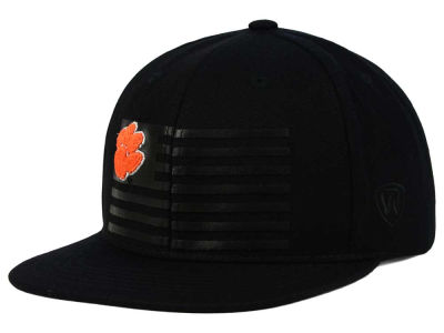 Clemson Tigers Top of the World NCAA Saluter Snapback Hat