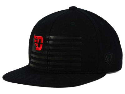 Dayton Flyers Top of the World NCAA Saluter Snapback Hat