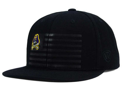 East Carolina Pirates Top of the World NCAA Saluter Snapback Hat