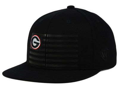 Georgia Bulldogs Top of the World NCAA Saluter Snapback Hat