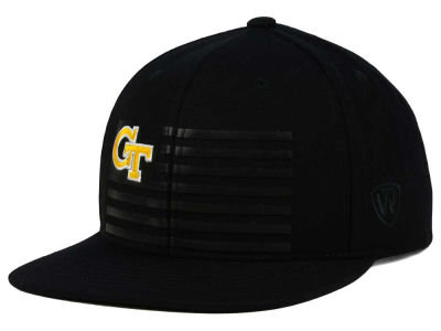 Georgia-Tech Top of the World NCAA Saluter Snapback Hat